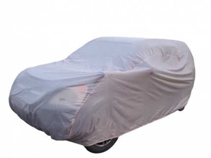 Тент чехол для автомобиля, ЭКОНОМ плюс для Volkswagen Polo hatchback