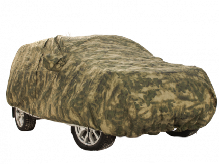 Тент чехол для автомобиля КОМФОРТ для ВАЗ / Lada 2111