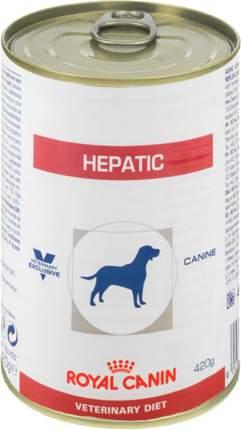 Консервы для собак ROYAL CANIN Hepatic, при заболеваниях печени, 420г