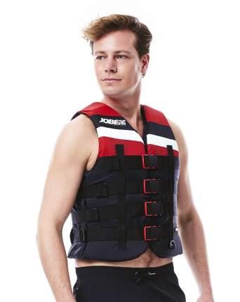 Гидрожилет унисекс Jobe 2019 4 Buckle Vest, red, XXL