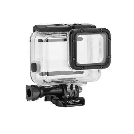 Аквабокс + дополнительная сенсорная крышка Telesin GP-WTP-504  для GoPro Hero 5/6/7 Black