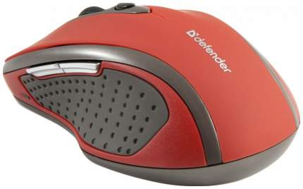 Беспроводная мышь Defender Safari MM-675 Nano Red (52676)