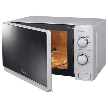 Микроволновая печь соло Midea MM720C4E-S silver/black