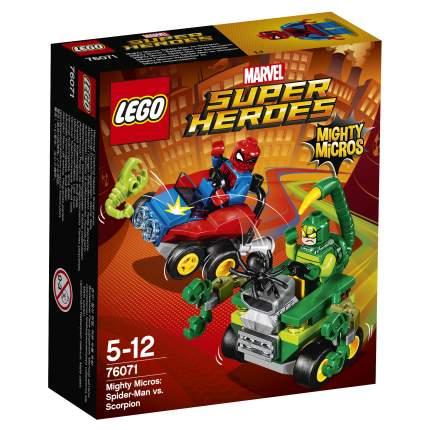 Конструктор LEGO Super Heroes Mighty Micros: Человек-паук против Скорпиона (76071)