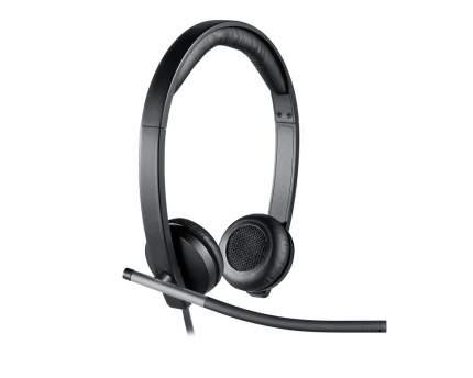 Гарнитура для компьютера Logitech H650e Black