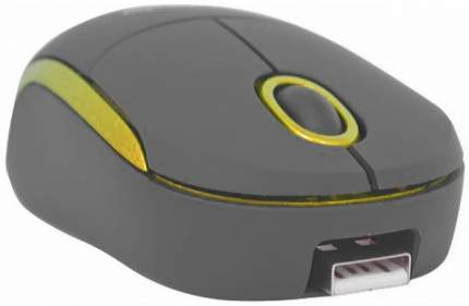 Проводная мышка Defender MS-630 Yellow/Black (52633)