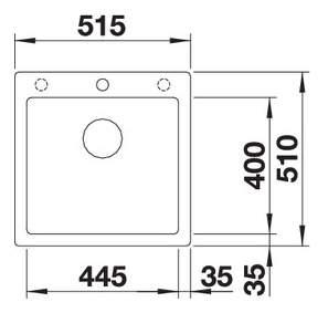 Мойка для кухни гранитная Blanco PLEON 5 521504 антрацит