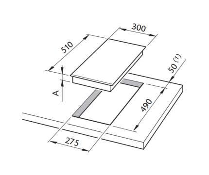 Встраиваемая варочная панель индукционная Delonghi PIND-30 Black