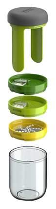Терка спиралайзер с тремя лезвиями и контейнером для хранения Spiro