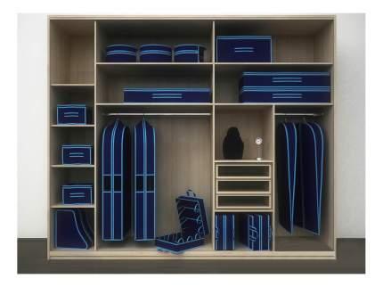 Чехол для одежды CoFreT Классик 10 х 60 х 100 см синий