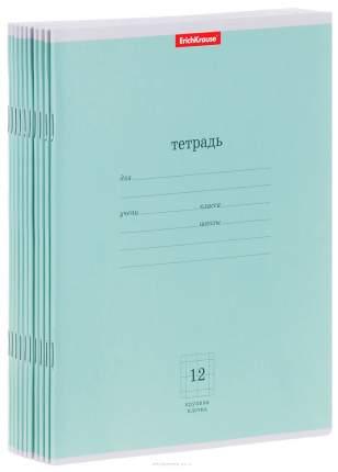 Тетрадь ученическая 12 листов Крупная Клетка Классика