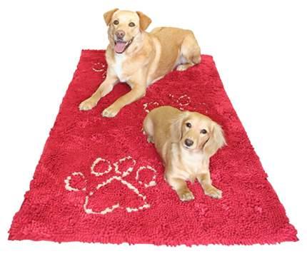 Коврик для животных DOG GONE SMART Doormat Runner 76x152см красный