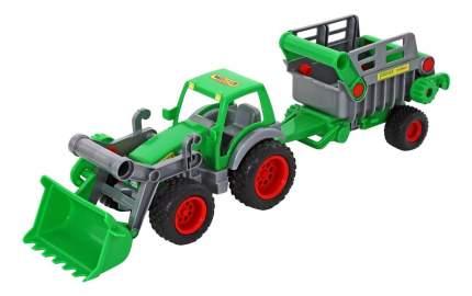 Трактор-погрузчик с полуприцепом Wader 46505