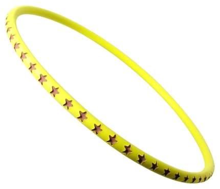 Гимнастический обруч SafSof Хулахуп 75 см желтый
