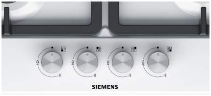 Встраиваемая варочная панель газовая Siemens EG6B2HO90R White