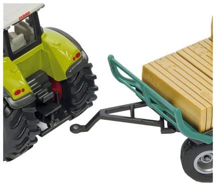 Тракторы с захватом и прицепом Siku