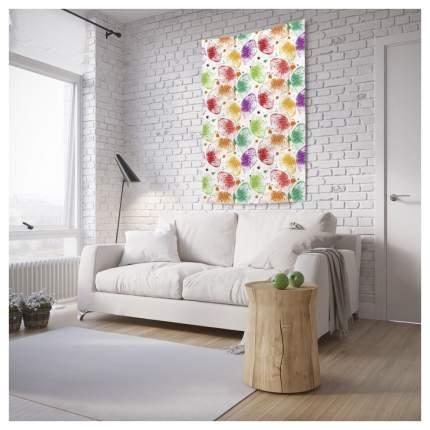 Постер из ткани вертикальный «Блестящие листья» JoyArty tp_17956