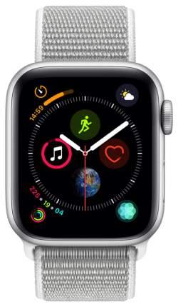 Смарт-часы Apple Watch Series 4 40mm Silver Al/Seashell Sport Loop (MU652RU/A)