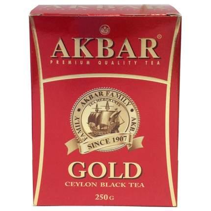 Чай черный Akbar gold цейлонский 250г
