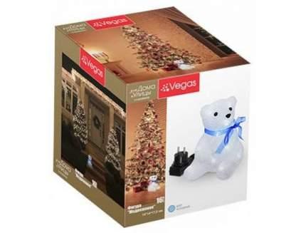 """Фигура VEGAS """"Медвежонок"""" акриловая  16 холодных LED, 14*14*17,5 см, 3 V /6"""