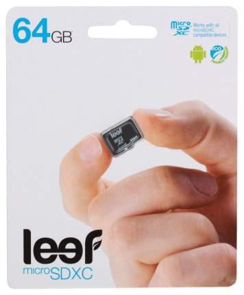 Карта памяти Leef Micro SD LFMSD-06410R 64GB
