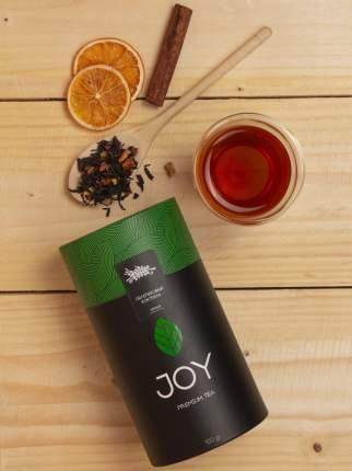 Премиум чай черный Joy облепиховый коктейль 100 г