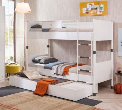 Кровать выдвижная Cilek White 90х190 см, белый