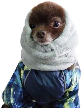 Капор для собак OSSO Fashion, зимний, серый, XS