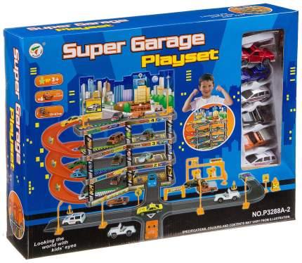 Гараж-парковка Shenzhen toys с лифтом super garage Г28644