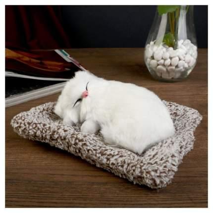 Мягкая игрушка Sima-Land Пушистик Котейка на подушке в ассортименте