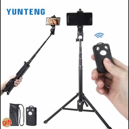 Штатив для телефона YUNTENG VCT-1688 Black