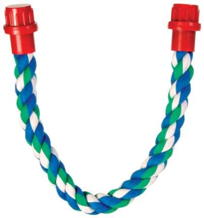 Игрушка для птиц TRIXIE Rope Perch M, трос для клетки, 66х1,8 см