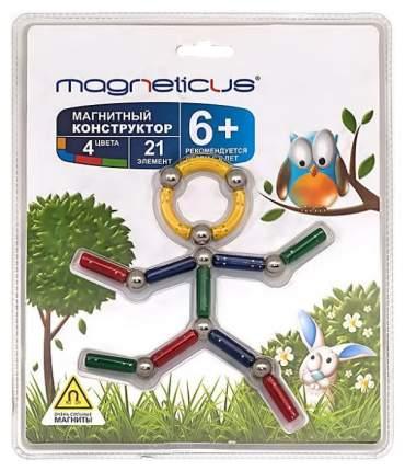 Конструктор магнитный Magneticus 21 элемент Человечек