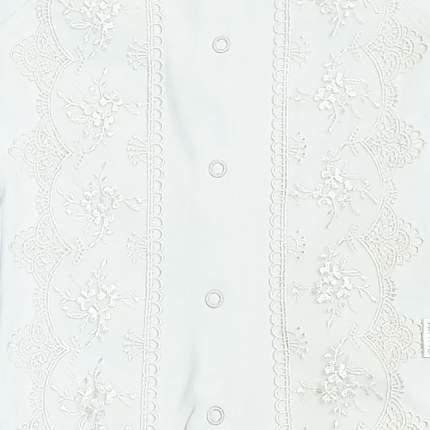 Комплект детский 2 пр. Папитто с кружевом р.62 31-5212н белый
