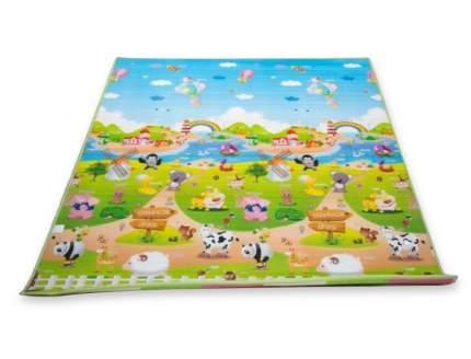 Напольное покрытие BabyPol Веселая ферма № 2 размер 15*18