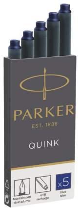 Картриджи чернильные Parker Quink для перьевой ручки 1950384 Синий