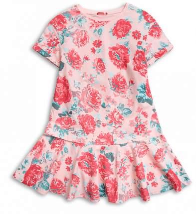 Платье для девочки Pelican GFDT4016 Персиковый р. 146