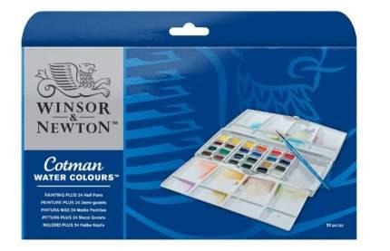 Акварель Winsor&Newton Cotman Painting Plus 24 цвета