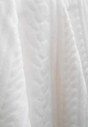 Плед Сонный гномик Косы белый