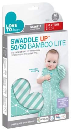 Конверт для новорожденных Love To Dream Swaddle UP 50/50 Bamboo LITE мята M