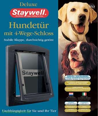 Дверца для собак StayWell 850, темно-серая, 29,1х42,9см