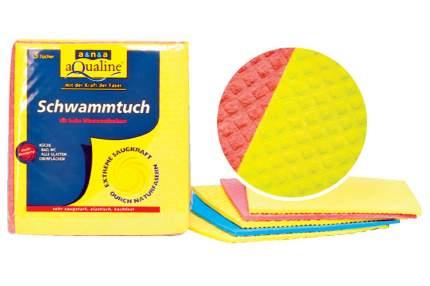 Салфетка для уборки aQualine Губчатая для уборки 5 шт.