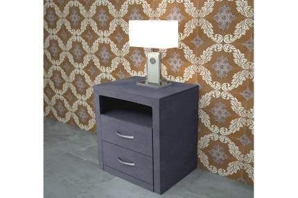 Тумба прикроватная приставная Hoff Коста 80302078 52,5x40,5x54 см, серый