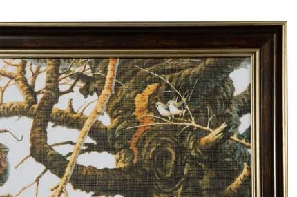 Репродукция 44х44 см Hoff Кот на ветке