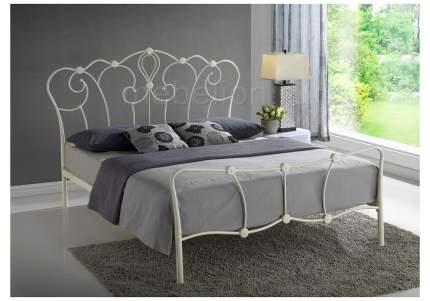 Кровать двуспальная Woodville нет 160х200 см, бежевый