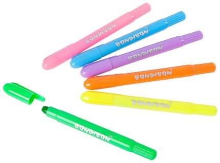 Набор гелевых карандашей Bondibon 6 цветов вв2236