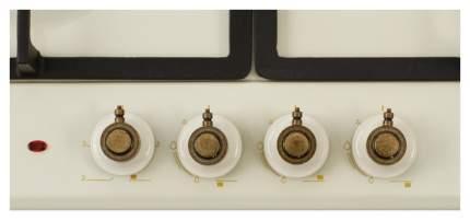 Встраиваемая варочная панель комбинированная Simfer H60V31O512 Beige