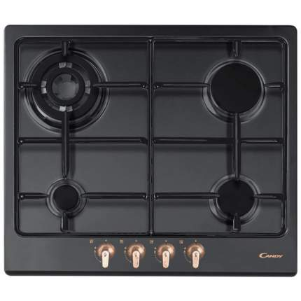 Встраиваемая варочная панель газовая Candy CPGC 64SQPGH Black