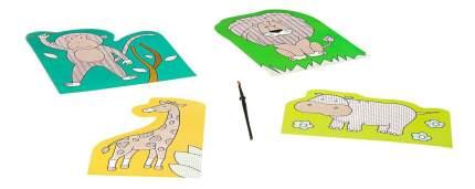 Набор для творчества Bondibon водная раскраска ( животные )