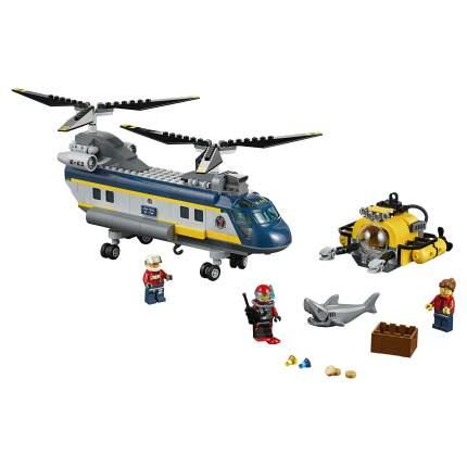 Конструктор LEGO City Deep Sea Explorers Вертолет исследователей моря (60093)